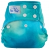 happy heinys one size cloth diaper - tye dye