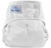 happy heinys one size cloth diaper - white