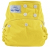 happy heinys one size cloth diaper - yellow