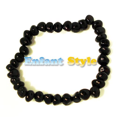 healing amber bracelet or anklet stretch - Molasses