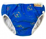 imse vimse swim diaper - blue fish