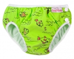 imse vimse swim diaper - green fish