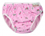 imse vimse swim diaper - pink white flower