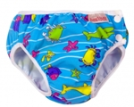imse vimse swim diaper - Turquoise sea animal