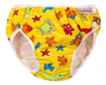 imse vimse swim diaper - yellow sea animal