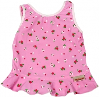 imse vimse tankini tops - pink and white flower