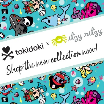 itzy ritzy x tokidoki collaboration