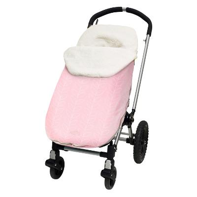jj cole weather resistant bundleme pink leaf toddler
