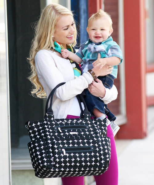 jj cole caprice diaper bag - shadow 3