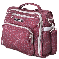 jujube diaper bag bff - blackcherry