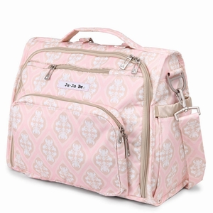 jujube diaper bag bff - blush frosting