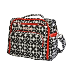ju ju be bff diaper bag - crimson
