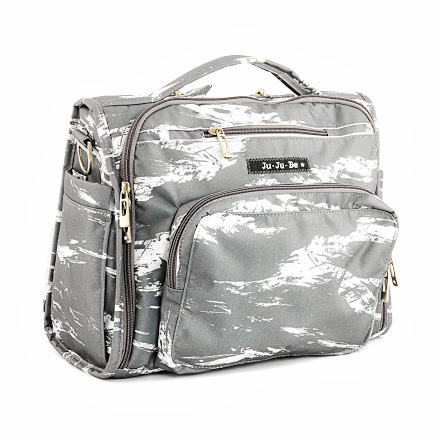 jujube diaper bag bff - gray