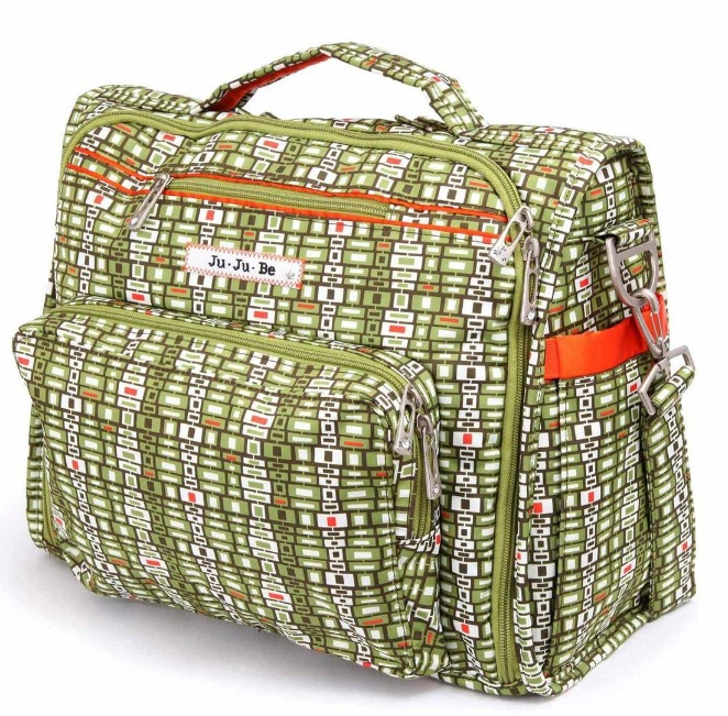 jujube diaper bag bff - jungle maze