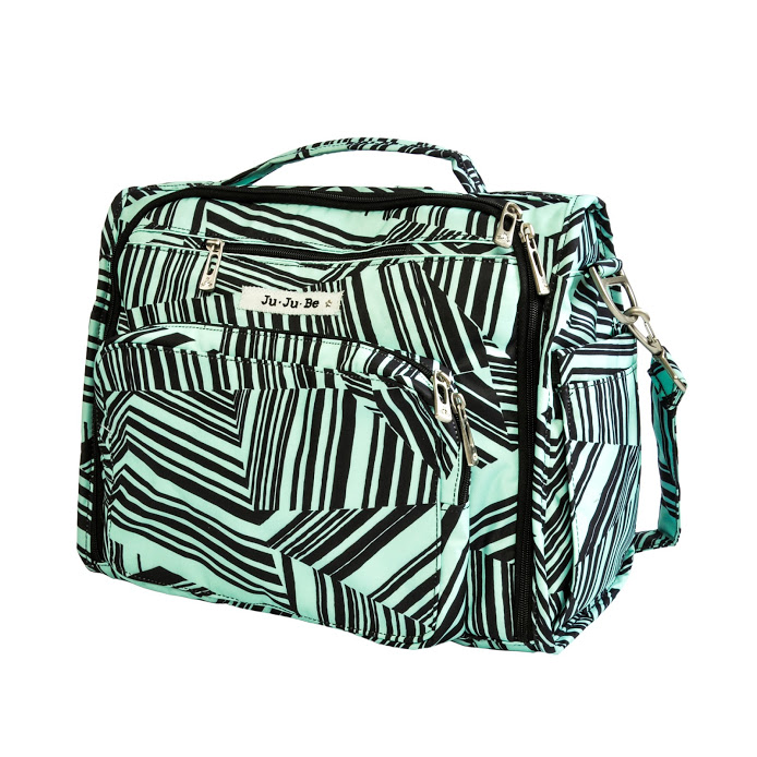 jujube diaper bag bff - mint chip