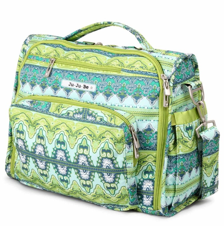jujube diaper bag bff - sea glass
