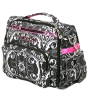 jujube diaper bag bff - shadow waltz