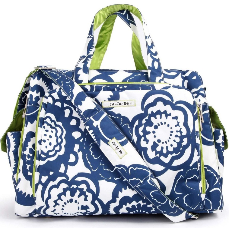 jujube diaper bag be prepared - cobalt blossoms