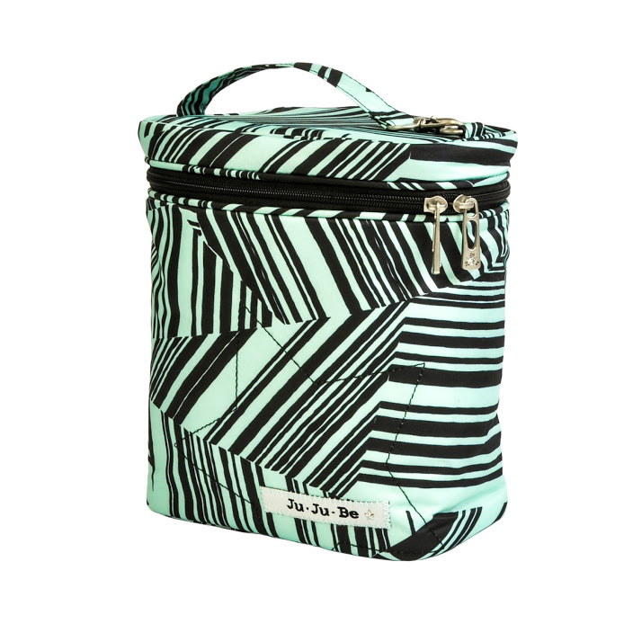jujube diaper bag fuel cell - mint chip