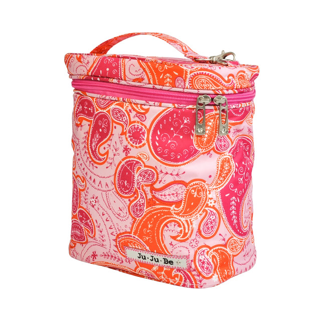 jujube diaper bag fuel cell - perfect paisley