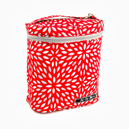 jujube diaper bag fuel cell - scarlet petals