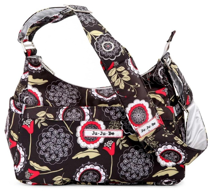 jujube diaper bag hobobe -  Lotus Lullaby