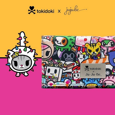 jujube diaper bag tokidoki iconic 2.0
