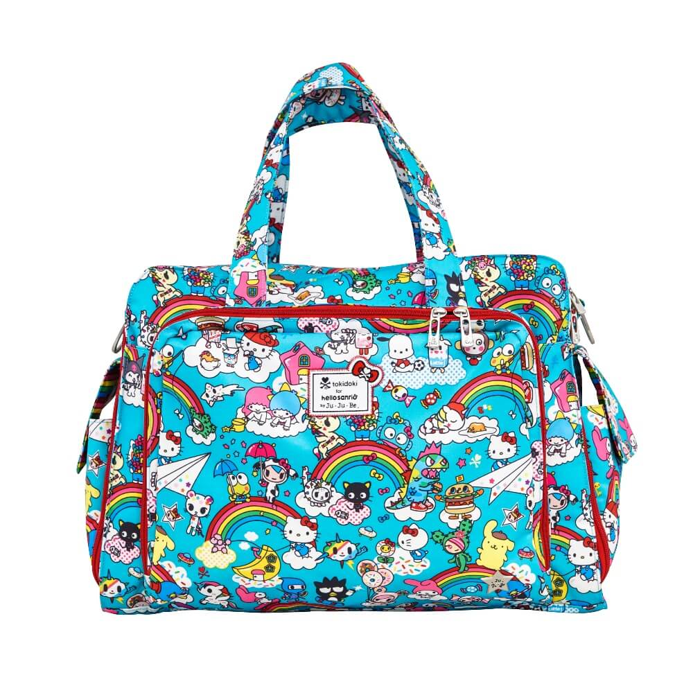 3dce30f0950 Ju Ju Be Be Prepared Diaper Bag - Tokidoki Helll Kitty Rainbow Dreams