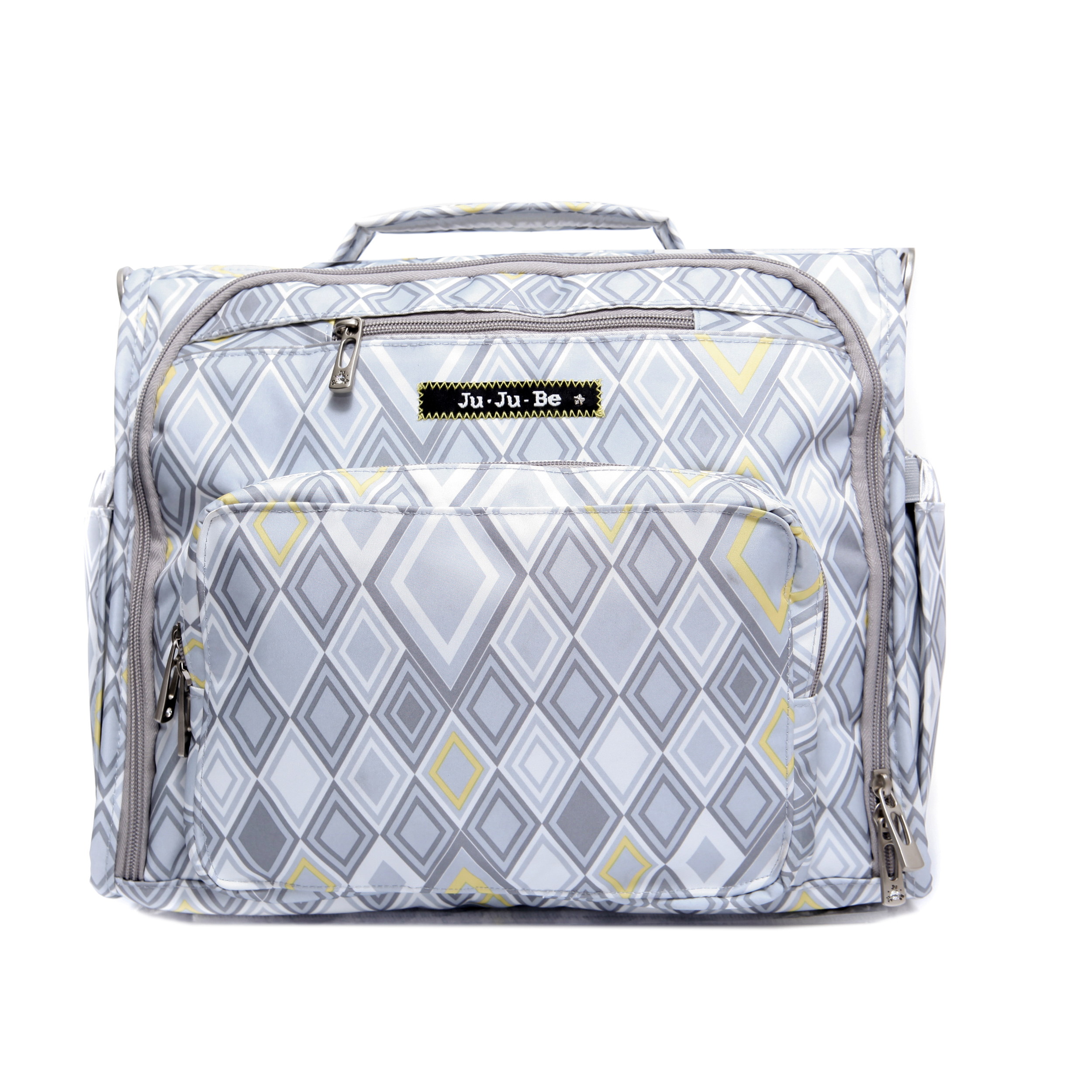 jujube diaper bag bff - silver ice