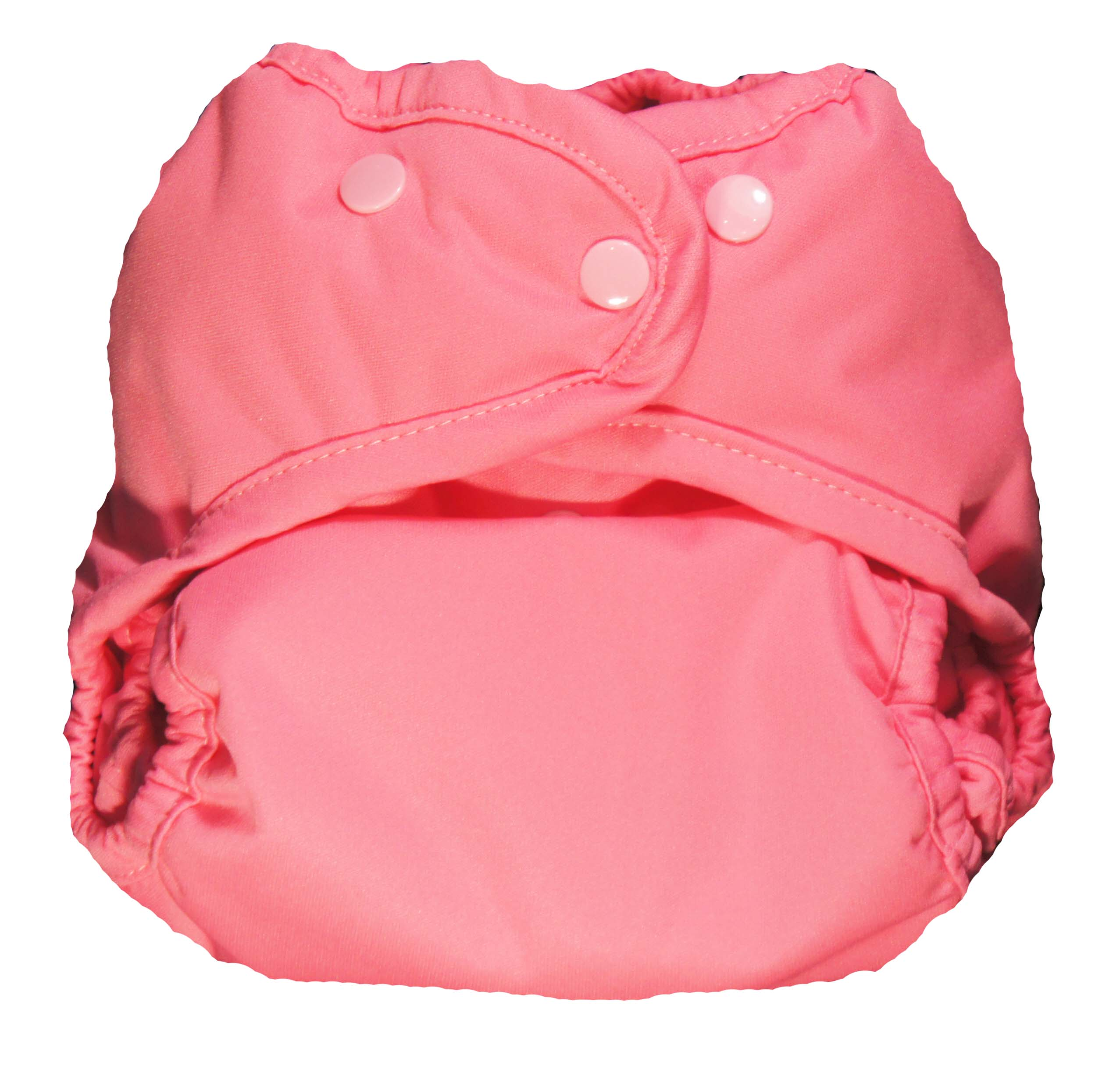 Kissaluvs Marvels One Size Diaper Cover - hip pink