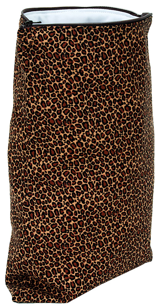 Kissaluvs Antibacterial Wet Bag - cheetah