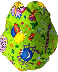 Kissaluvs Kutie One Size Diaper Cover - happy bugs
