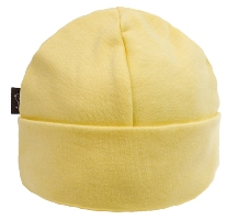 kushies baby cap - yellow