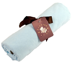 kushies receiving blanket - blue