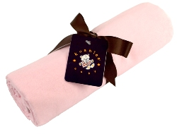 kushies receiving blanket - pink