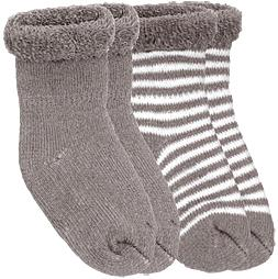 kushies newborn socks - mocha