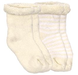 kushies newborn socks - yellow