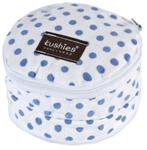 kushies nursing pads - blue dots