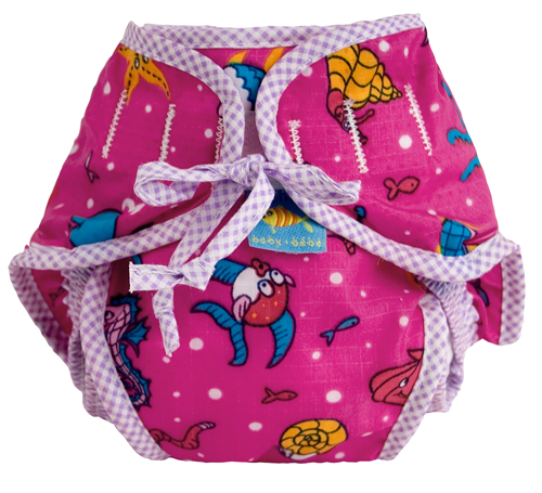 swim diaper Fuchsia