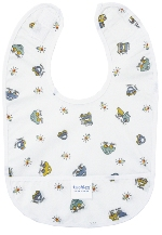 kushies premium bib - bear