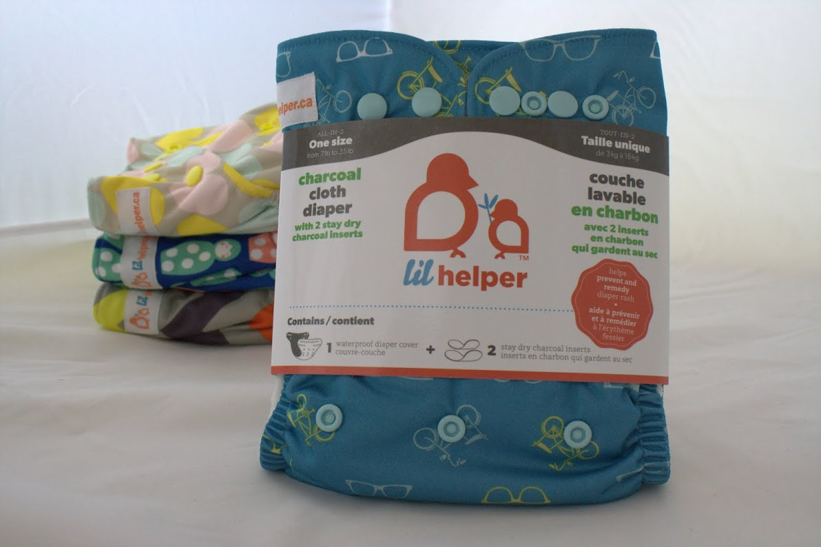 lil helper cloth diaper - Retro Bikes