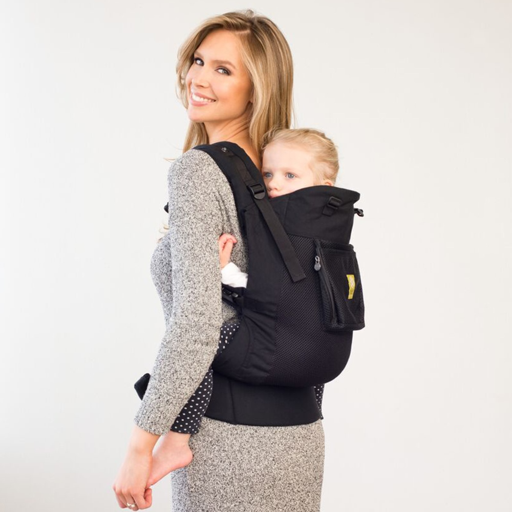 Lillebaby CARRY-ON Toddler Airflow Carrier - Black