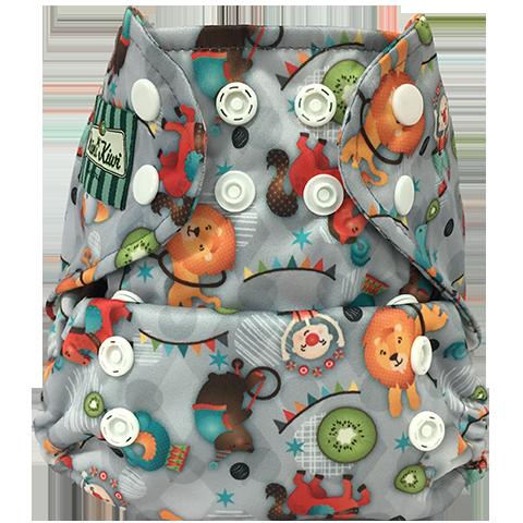 Mini Kiwi One Size Pocket Diaper -  Circus