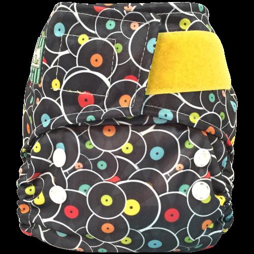 Mini Kiwi One Size Pocket Diaper -   Vinyl Record