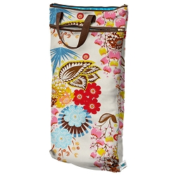 planet wise hanging wet/dry bag - April Flowers