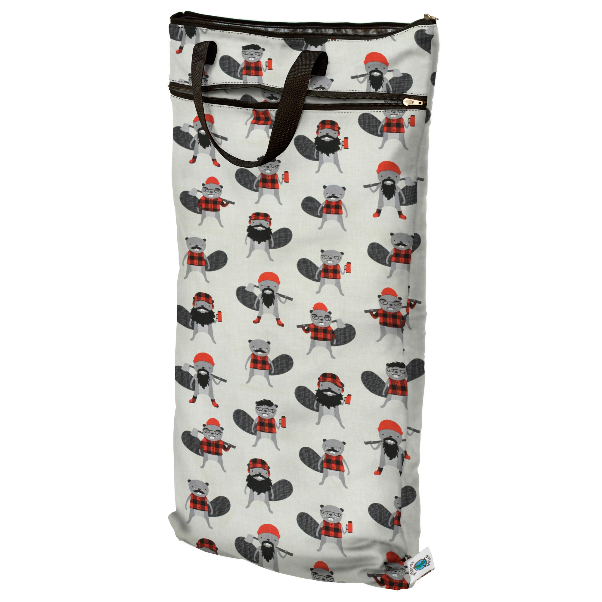 planet wise hanging wet/dry bag -  Burly Beaver