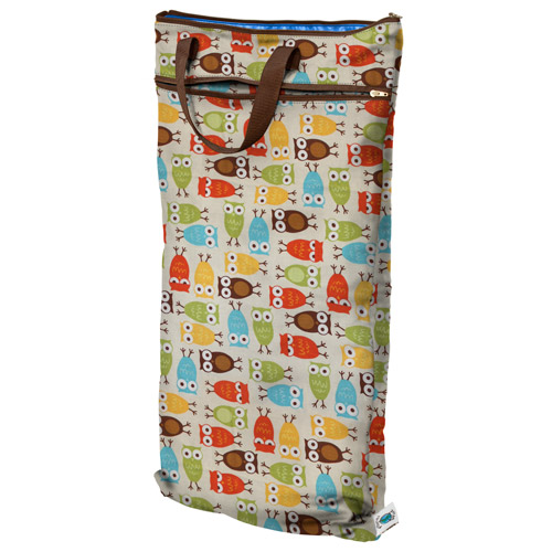 planet wise hanging wet/dry bag - Owl