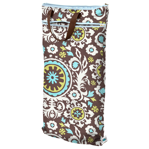 planet wise hanging wet/dry bag -    Vintage Vinyard