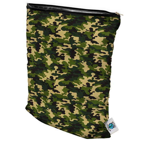 planet wise wet bag -  Camo