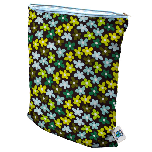 planet wise wet bag -  Daisy Dream